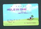 JAPON/JAPAN/GIAPPONE  -  Magnetic Phonecard As Scan (110-102) - Japan