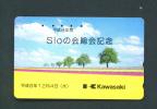 JAPAN  -  Magnetic Phonecard As Scan (110-220) - Japan