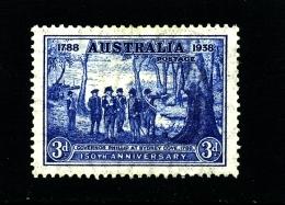 AUSTRALIA - 1937  3d  NSW  MINT  SG 194 - Nuovi