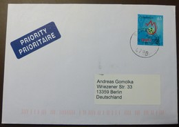 Brief Österreich   2008      EFA Fußball   #cover 4802 - 1945-.... 2. Republik
