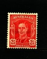 AUSTRALIA - 1942  2 1/2 D KING  MINT  SG 206 - Nuovi