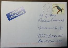 Brief Österreich   2008     Tierschutz  Eisvogel   #cover 4803 - 1945-.... 2. Republik