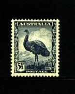 AUSTRALIA - 1942  5 1/2 D EMU  MINT NH  SG 208 - Nuovi