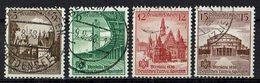 DR 1938 // Mi. 665/668 O - Deutschland