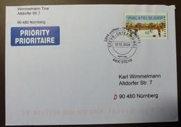 Brief Österreich   2009   ATM  Weihnachtsmarkt   #cover 4805 - 1945-.... 2. Republik