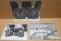 CLUNY (71) 3 Photographies  Ecole Des Arts Et Métiers Groupes Des Serruriers Beaux Plans - Cluny