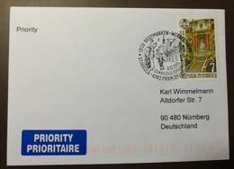 Brief Österreich   2001   St. Nikola    #cover 4806 - 1945-.... 2. Republik