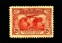 AUSTRALIA - 1931  2d  KINGSFORD SMITH  MINT  SG 121 - 1913-36 George V : Other Issues