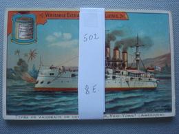LIEBIG : Types De Navires De Guerre  Nr 502 - Liebig