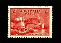 AUSTRALIA - 1932  2d  BRIDGE TYPO  MINT NH SG 144 - 1913-36 George V : Other Issues