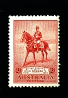 AUSTRALIA - 1935  2d  JUBILEE  MINT NH SG 156 - 1913-36 George V : Other Issues
