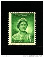 AUSTRALIA - 1938  DEFINITIVE  1d  GREEN  WMK  PERF. 14 X 15  MINT NH  SG 180 - Nuovi