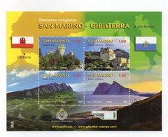 San Marino - 2010 - Emissione Congiunta Con Gibilterra - 4 Valori - (FDC15901) - Blocchi & Foglietti