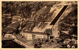 """CARDANO / BOLZANO : IL GRANDE STABILIMENTO ELETTRICO """"SIDI"""" - POSTCARD MAILED To BUCHAREST / ROMANIA In 1940 (ac457) - Autres Villes"""
