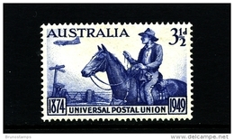 AUSTRALIA - 1949  3 1/2 D  UPU  MINT NH  SG 232 - Nuovi
