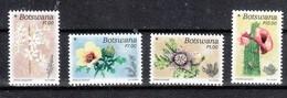 Botswana 2017**, Weihnachten, Wüstenblumen, Sukkulenten / Botswana 2017, MNH, Christmas, Desert Flowers, Succulents - Sukkulenten