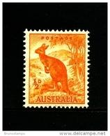 AUSTRALIA - 1949  1/2 D  KANGAROO  NO WMK  MINT NH  SG 228 - Nuovi