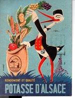 Publicité - POTASSE D'ALSACE ( 10X14 ) - Publicité