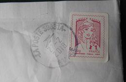 765 Enveloppe France Marianne Ciappa Kawena Lettre Suivie 20g - 1961-....