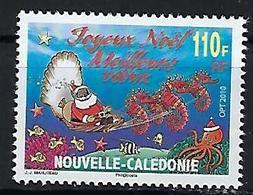 """Nle-Caledonie YT 1118 """" Noël """" 2010 Neuf** - Neufs"""