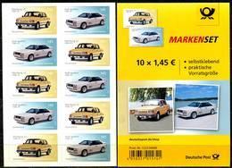 A03-01-10) BRD - Mi 3378 / 3379 Gestanzt = FB 76 - ** Postfrisch - 5x 145-145C  Automobile - Ausgabe: 12.04.2018 - Unused Stamps