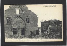 CPA Franc Maçonnerie Masonic Maçonnique Non Circulé Soissons Aisne - Philosophie & Pensées