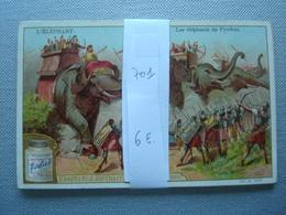 LIEBIG : L'éléphant Nr 701 - Liebig
