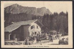 Col Du Pillon - Diligence - Postkutsche - Belebt – Animée - 1922 - VD Waadt