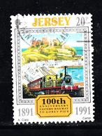 Trein, Train, Locomotive, Eisenbahn Jersey 1991 Mi Nr 545 - Treinen