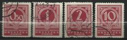 CROATIE  1941   Timbres Taxe - Croatie