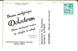 Baume Analgésique Doloderm. Laboratoire Roger Bellon. M. Le Docteur Germain Boudaut. Carbonne. - Publicité
