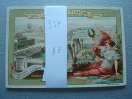 LIEBIG : Fleuves D'Europe Nr 557 - Liebig