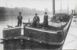 Péniche NA2: Victor Van Beveren ( Photo-carte ) - Houseboats