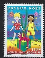 """Nle-Caledonie YT 1136 """" Noël """" 2011 Neuf** - Neufs"""