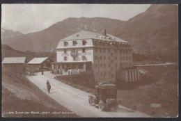 Simplon Kulm - Hotel Bellevue - Oldtimer - Marke Weg - VS Valais