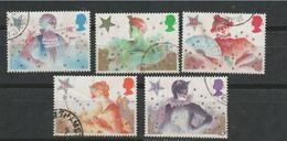 GROSSBRITANNIEN GRANDE BRETAGNE GB 1985 Christmas Set Of 5 USED SG 1303-7 SC 1124-28 MI 1051-55 YT 1202-1206 - 1952-.... (Elisabeth II.)