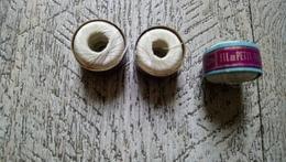 Lot 3 Bobines Fil Au Petit Poucet 55 Mètres  Mercerie Ancienne Couture Broderie - Altri