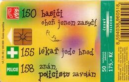 REPUBLICA CHECA. Card For Children. C335, 43/09.00. (036) - Czech Republic