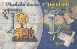 REPUBLICA CHECA. TELEFONOS. Last Card In 2. Millennium. C337, 45/10.00. (091) - República Checa