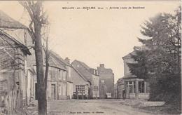 CPA Dept 61 BELLOU EN HOULME Arrivée Route De Domfront - France