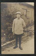 Carte Photo Soldat Du 60ème Régiment  - Non Circulée - Uniformes
