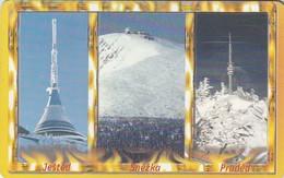REPUBLICA CHECA. ANTENAS COMUNICACIONES. Mountains In Winter. C346, 57/11.00. (092) - República Checa