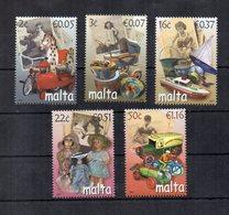 Malta - 2007 - Giocattoli Dei Tempi Passati - 5 Valori - Nuovi - Vedi Foto - (FDC15903) - Malta