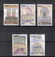 Malta - 2007 - Balconi - 5 Valori - Nuovi - Vedi Foto - (FDC15904) - Malta