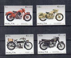 Malta - 2007 - Motocicli - 4 Valori - Nuovi - Vedi Foto - (FDC15905) - Malta