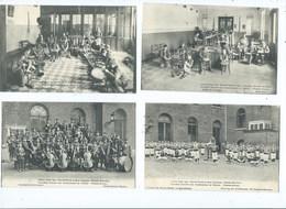 Woluwe St Lambert -Institut Royal Des Sourds Et Muets -Symphonie Des Aveugles Etc. EZV ( 10 Cartes / Kaarten ) - Woluwe-St-Lambert - St-Lambrechts-Woluwe