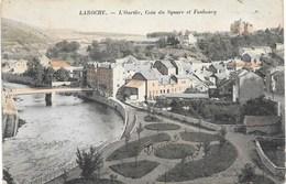 Laroche NA21: L'Ourthe, Coin Du Square Et Faubourg 1907 - La-Roche-en-Ardenne