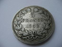 5 Francs 1832 A  Louis Philippe I France - France