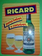 Calendrier De Poche Ricard 1986 - Calendarios