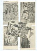 LIEGE Expo 1905 : Vieux Liège Lot De 5 Cartes Postales - Liege